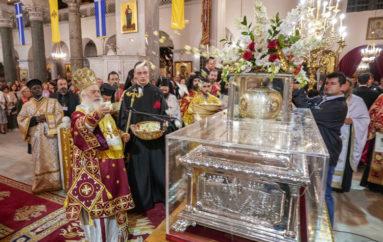 Η Ακολουθία του Επιταφίου του Αγίου Δημητρίου στη Θεσσαλονίκη