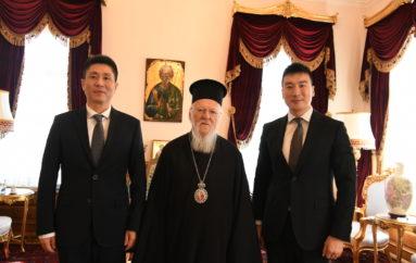 Ο Γεν. Πρόξενος της Λαϊκής Δημοκρατίας της Κίνας στο Οικ. Πατριαρχείο