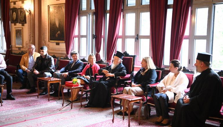 Εκπρόσωποι του Προξενικού Σώματος στην Πόλη επισκέφθηκαν την Σχολή της Χάλκης