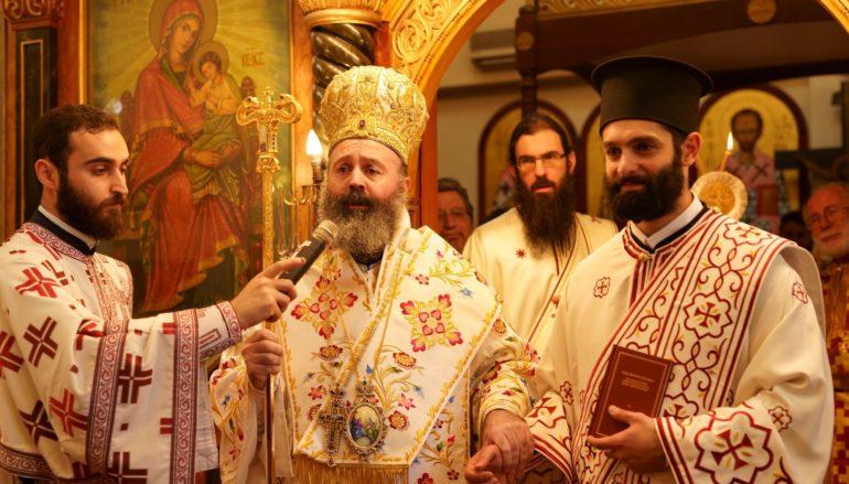 Χειροτονία Διακόνου από τον Αρχιεπίσκοπο Αυστραλίας