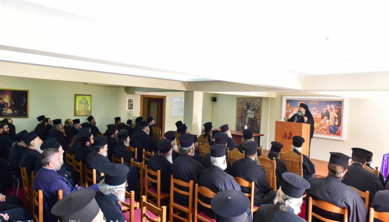 Ιερατική Σύναξη Οκτωβρίου στην Ι. Μητρόπολη Λαγκαδά