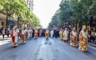 Μεγαλειώδης η λιτανεία του Αγίου Δημητρίου στη Θεσσαλονίκη
