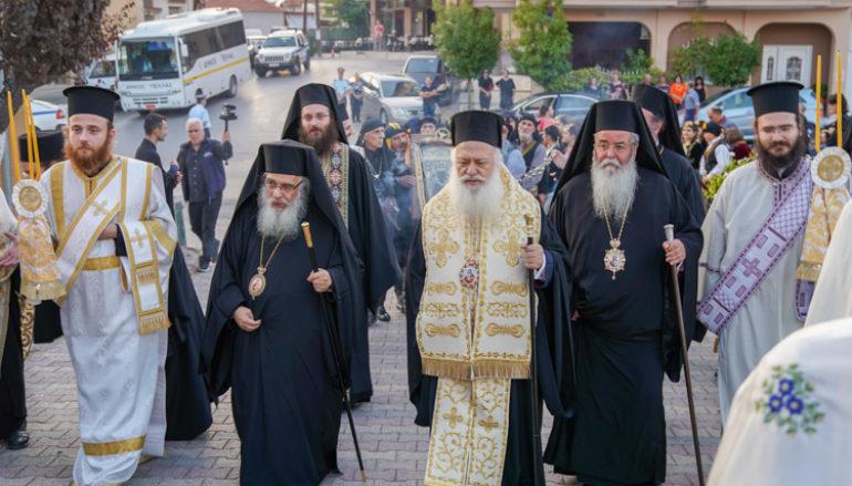 Τα Ιερά Κειμήλια του Πόντου υποδέχθηκαν τα Γιαννιτσά