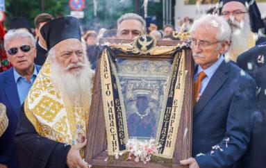 Την Παναγία Σουμελά υποδέχθηκε η Θεσσαλονίκη