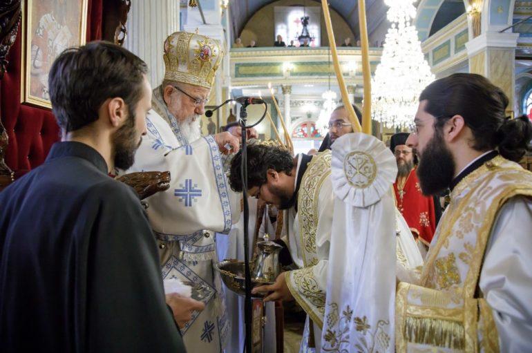 Χειροτονία Διακόνου στην Ιερά Πόλη του Μεσολογγίου