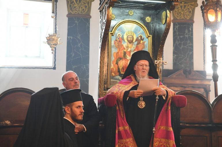 """Οικ. Πατριάρχης: """"Το Οικ. Πατριαρχείον αγωνίζεται σήμερα να διαφυλάξη την πίστιν των Πατέρων"""""""
