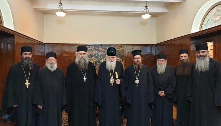 Μήνυμα ενότητας από τον Πατριάρχη Βουλγαρίας προς το Άγιον Όρος