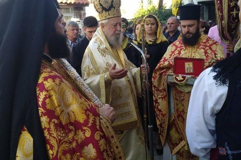 Λαμπρός ο εορτασμός του Αγίου Δημητρίου στην Ι. Μ. Καρυστίας