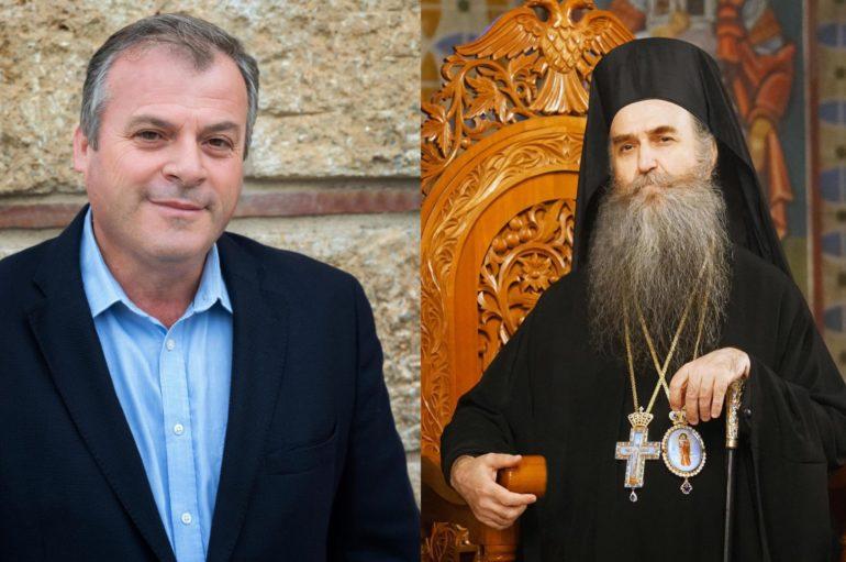 Στο Δήμαρχο Πύλου – Νέστορος ο Μητροπολίτης Τριφυλίας