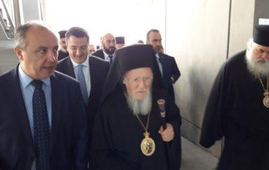 Αφίχθη στην Θεσσαλονίκη ο Οικουμενικός Πατριάρχης