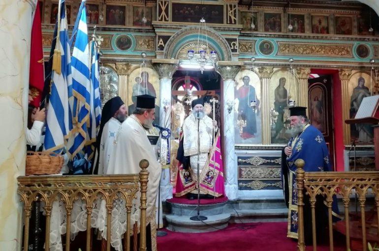 Η Εθνική Επέτειος του «ΟΧΙ» στην Ιερά Μητρόπολη Μάνης