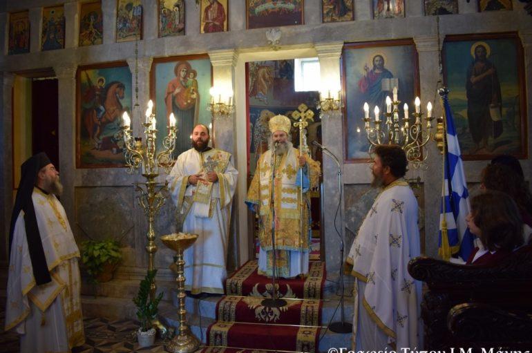 Μάνης Χρυσόστομος:«Δυνατή πίστη ως του Αγίου Δημητρίου»