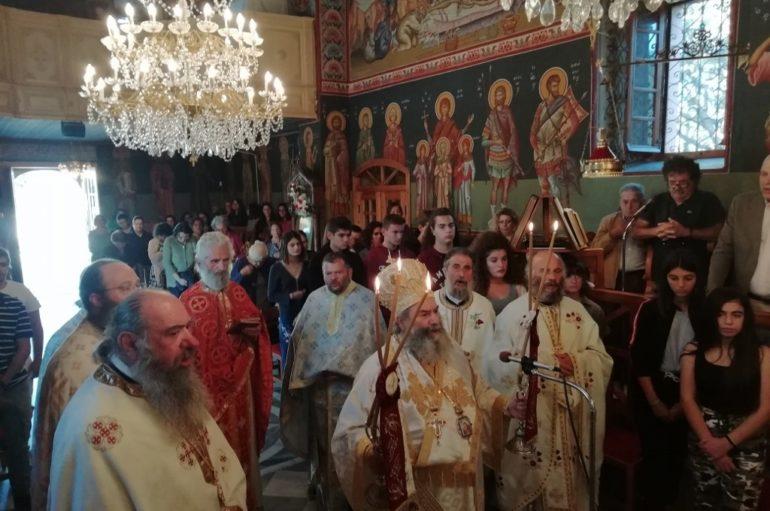 Ο εορτασμός του Αποστόλου Λουκά στην Καρδαμύλη Μεσσηνίας