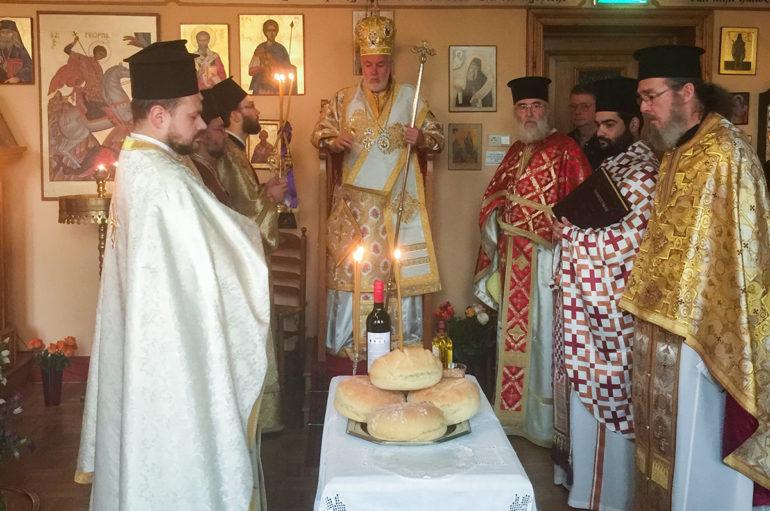 Η εορτή του Αγίου Νεκταρίου στο Eindhoven
