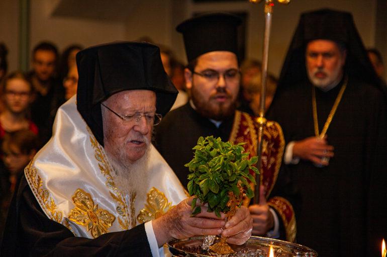 Θυρανοίξια Ναού της Αγίας Αικατερίνης από τον Οικουμενικό Πατριάρχη