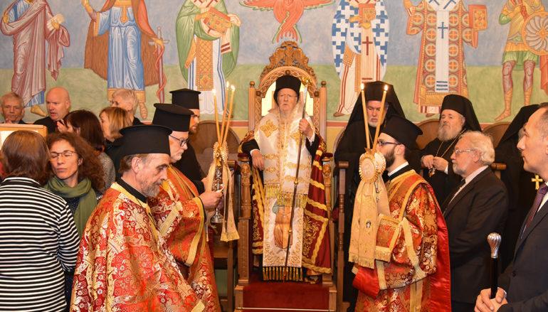 Ο Οικουμενικός Πατριάρχης στην Ορθόδοξη Ενορία της Brugge