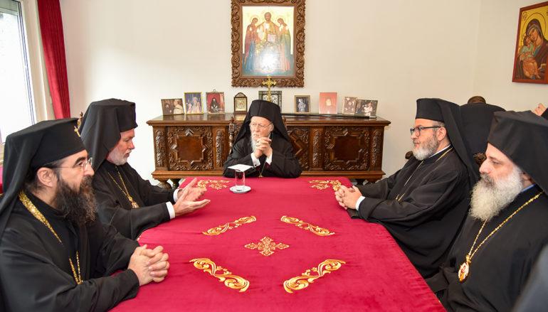 Συνάντηση του Οικ. Πατριάρχη με την Ορθόδοξη Επισκοπική Συνέλευση της Μπενελούξ