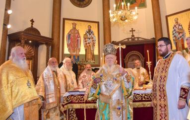 Χειροτονία του Αρχιδιακόνου της Ι. Μ. Βελγίου από τον Οικ. Πατριάρχη