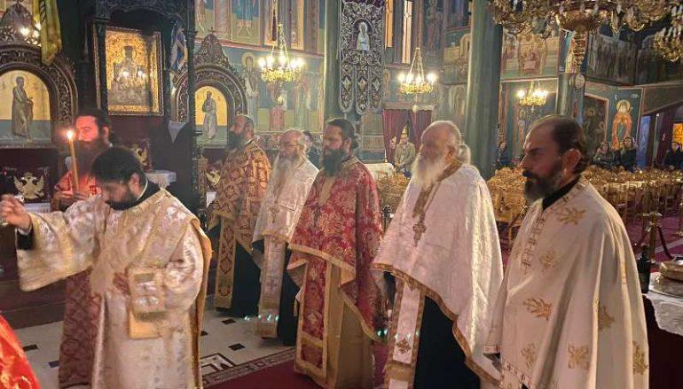 Αγρυπνία στον Μητροπολιτικό Ναό Γρεβενών για τα Εισόδια της Θεοτόκου