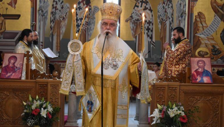 Λαμπρός εορτασμός πάντων των Καστοριανών Αγίων