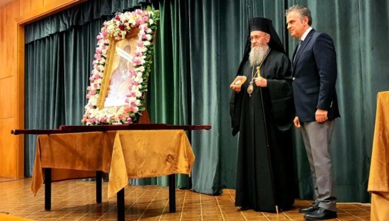 Ο Μητροπολίτης Ναυπάκτου στην εορτή του Κέντρου Ρουμελιωτών