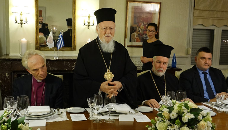 Ο Οικουμενικός Πατριάρχης Βαρθολομαίος στη Χάγη