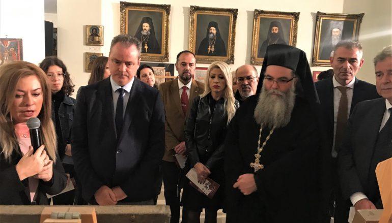 Εγκαίνια έκθεσης Εικόνων της Αγίας Αικατερίνης στην Ι. Μ. Κίτρους