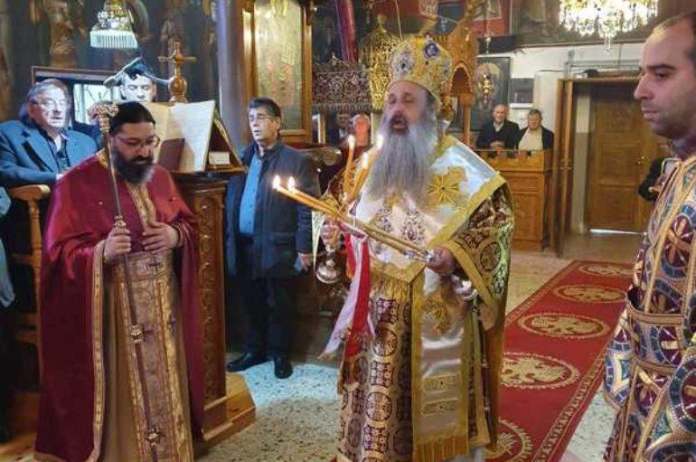 Η εορτή των Εισοδίων της Θεοτόκου στην Ι. Μητρόπολη Σταγών