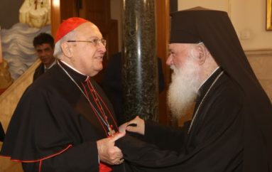 Συνάντηση Αρχιεπισκόπου με τον Καρδινάλιο Leonardo Sandri
