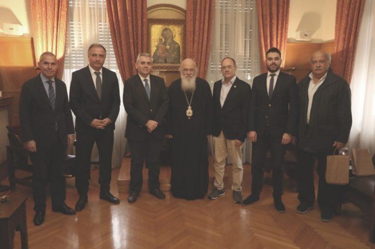 Συναντήσεις του Αρχιεπισκόπου Ιερωνύμου