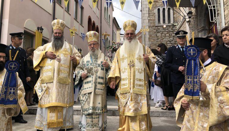 Η εορτή των Εισοδίων της Θεοτόκου στον Ι. Μητροπολιτικό Ναό Λεβαδείας