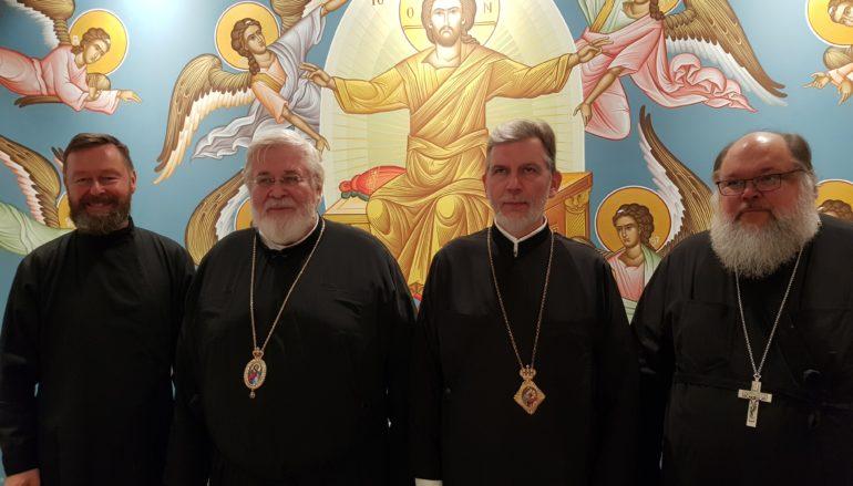 Ο Αρχιεπίσκοπος Φιλλανδίας Λέων φιλοξενούμενος στην Ι. Μ. Σουηδίας