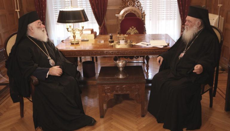 """Αλεξανδρείας Θεόδωρος προς Αρχιεπίσκοπο: """"Σας ευχαριστούμε για την στήριξή σας"""""""