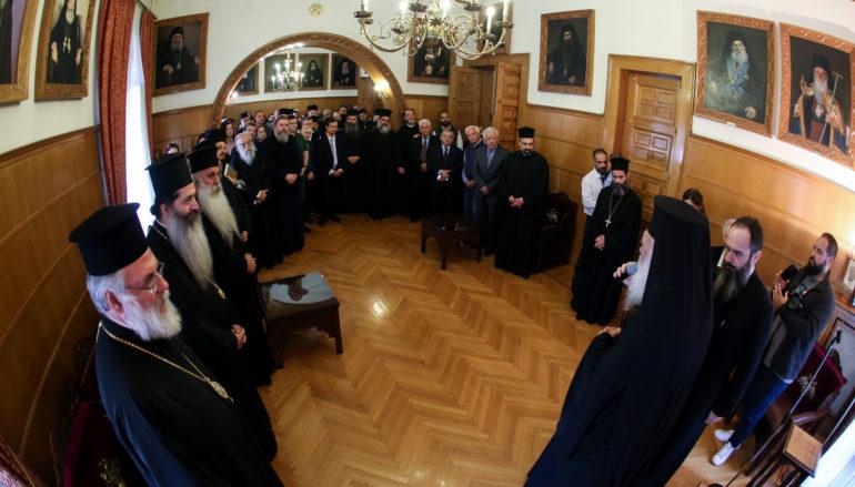 Παρουσίαση του νέου Πρωτοσυγκέλλου της Ιεράς Αρχιεπισκοπής Αθηνών