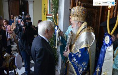 Ο Πρόεδρος της Δημοκρατίας στους επετειακούς εορτασμούς της Σάμου