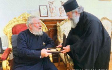 Ο Μητροπολίτης Μάνης στον Αρχιεπίσκοπο Κύπρου