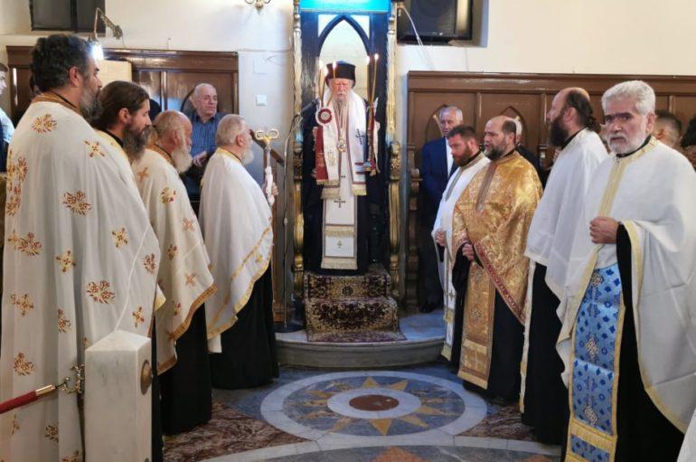 Την Παναγία Γλυκοφιλούσα υποδέχθηκε ο Πύργος