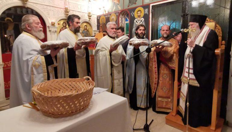 Η εορτή των Εισοδίων της Θεοτόκου στο Στρατόπεδο της ΣΕΤΤΗΛ