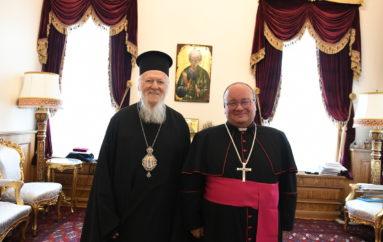 Ο ΡΚαθολικός Αρχιεπίσκοπος Μάλτας στο Οικουμενικό Πατριαρχείο