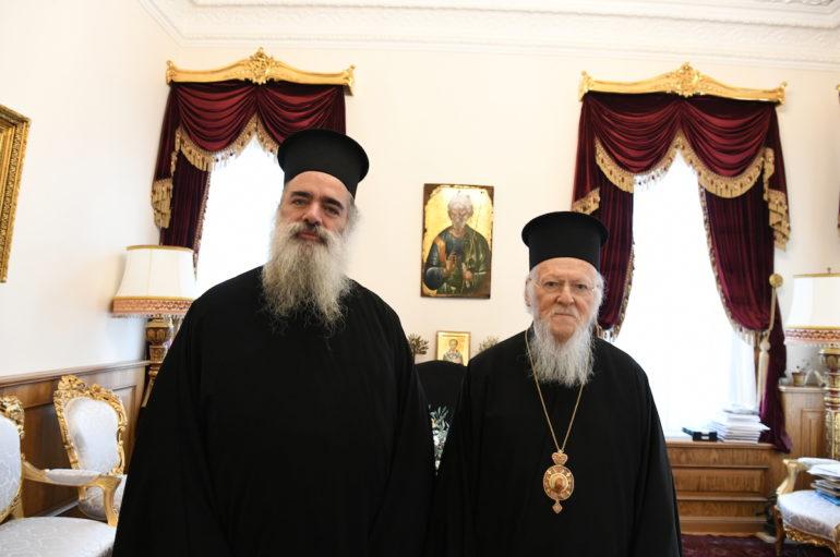 Στο Οικ. Πατριαρχείο ο Αρχιεπίσκοπος Σεβαστείας Θεοδόσιος