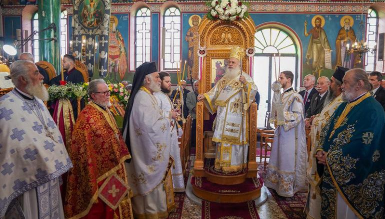 Λαμπρός ο εορτασμός των Παμμεγίστων Ταξιαρχών στη Βέροια