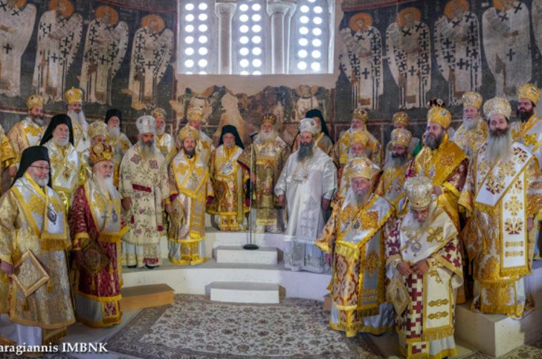 Πολυαρχιερατικό Συλλείτουργο για το Χρυσό Ιωβηλαίο Ιερωσύνης του Μητροπολίτη Βεροίας