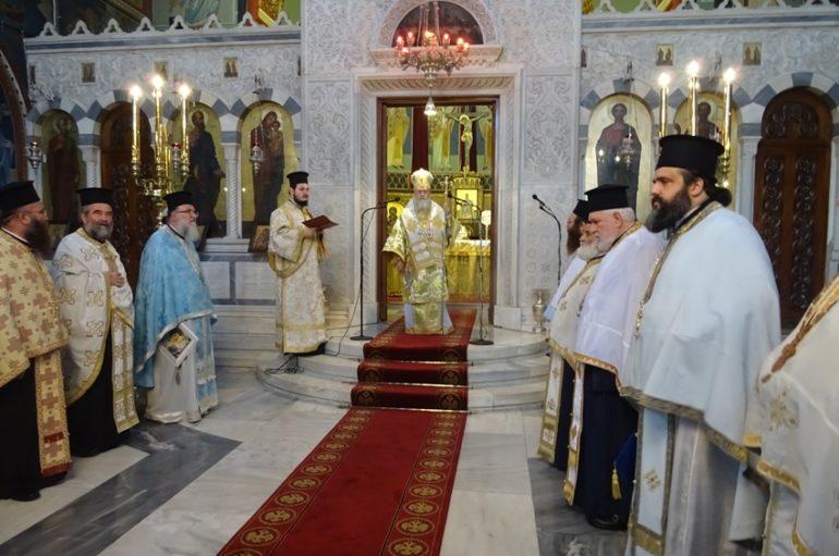 Η εορτή των Εισοδίων της Θεοτόκου στην Ι. Μητρόπολη Κορίνθου
