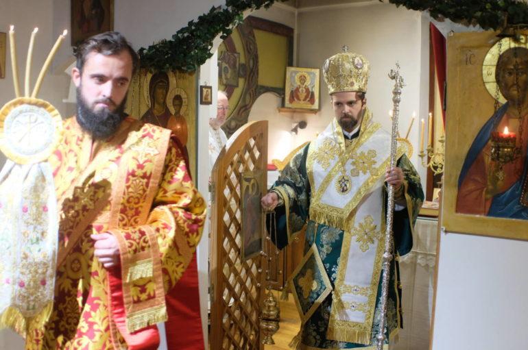 Ο Μελιτηνής Μάξιμος στον Άγιο Ιωάννη Κροστάνδης της πρώην Εξαρχίας