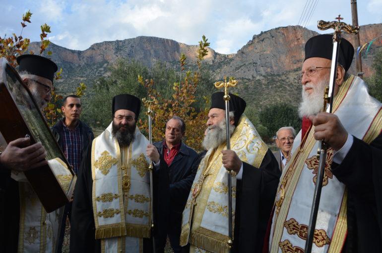Την Θαυματουργό Εικόνα της Παναγίας Έλωνας υποδέχθηκε το Λεωνίδιο