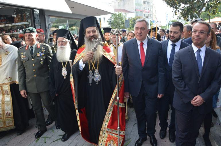 Η Φθιωτική Εκκλησία υποδέχθηκε το νέο της Ποιμενάρχη Συμεών