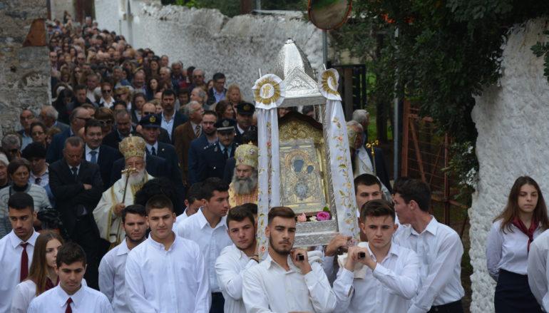 Το Λεωνίδιο τίμησε την Πολιούχο του Παναγία Έλωνα