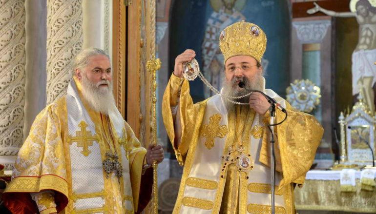 Ο Μητροπολίτης Καλαβρύτων Ιερώνυμος στην Ι. Μ. Πατρών