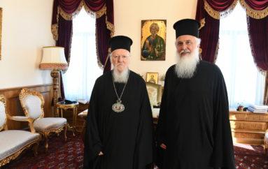 Στο Οικ. Πατριαρχείο ο νεοεκλεγείς Μητροπολίτης Λήμνου Ιερόθεος