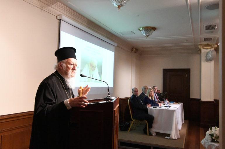 Οικ. Πατριάρχης: «Ο Θεοδωρουπόλεως Γερμανός ήταν κάτι ξεχωριστό»